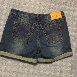 True Religion Shorts - TRUE RELIGION *GIRLS SZ 16 or WOMENS SZ 2 J SHORTS